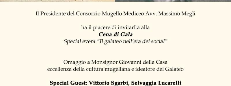 Sabato 10 Settembre al Monsignor della Casa Resort, la cena di gala